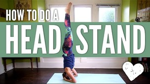 Thumbnail image for Head Stand Yoga Pose - How To Do a Headstand for Beginners