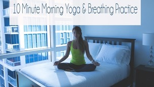 Thumbnail image for 10 Min Morning Yoga & Breathing Practice