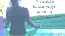 Basic Yoga Warm up