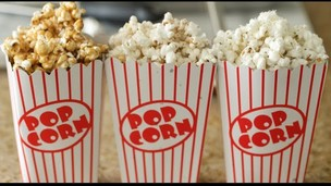 Thumbnail image for Caramel, Parmesan-Rosemary, & Brown Butter Popcorn