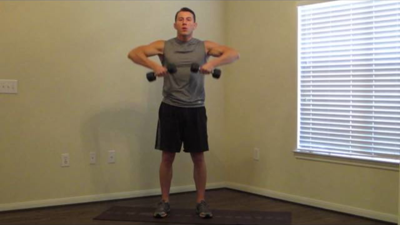 15 Minute Beginner Weight Training Fitness And Exercise Videos Grokker