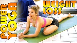 Thumbnail image for Beginners Power Yoga For Weight Loss - Total Body Workout - 45 Minute Yoga Class