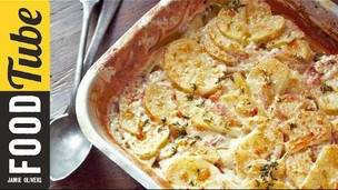 Thumbnail image for Jamie's Quick Potato Dauphinoise