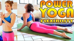 Thumbnail image for Beginners Power Yoga For Flexibility - Total Body Workout - 45 Minute Yoga Class