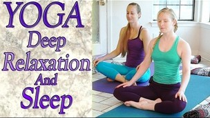 Thumbnail image for Beginners Yoga For Deep Relaxation, Sleep, Insomnia, Anxiety & Stress Relief