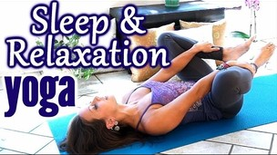 Thumbnail image for Beginners Yoga for Relaxation & Sleep, Flexibility Stretches for Stress, Anxiety & Pain Relief