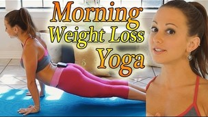 Thumbnail image for Morning Yoga For Weight Loss - 20 Minute Workout Fat Burning Yoga Meltdown Beginner & Intermediate