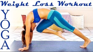 Morning Weight Loss Yoga Workout 3 - 25 Minute Fat Burning Yoga Meltdown Beginner & Intermediate