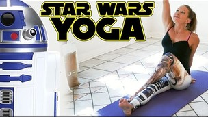 Thumbnail image for Star Wars Yoga For Beginners Workout For Weight Loss & Flexibility Stretches 20 Minute Class