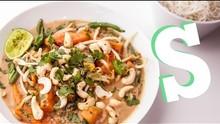 Spicy Squash Satay Recipe - Performance Food