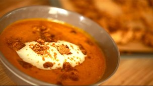 Thumbnail image for Carrot Soup with Spiced Crumble