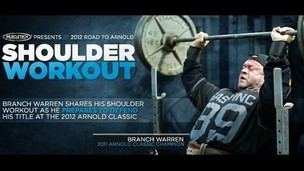 Thumbnail image for Branch Warren Shoulder Workout - Bodybuilding.com