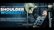 Branch Warren Shoulder Workout - Bodybuilding.com