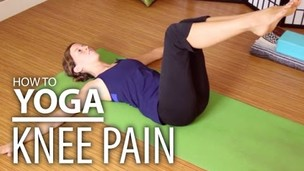 Thumbnail image for Yoga For Knee Pain - Yoga for Post Knee Surgery. Gentle & Safe Modified Poses