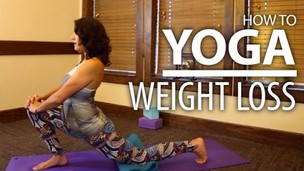 Thumbnail image for Beginners Yoga For Weight Loss - Focus on Butt & Thighs Yoga Flow!