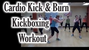 Thumbnail image for Cardio Kick & Burn