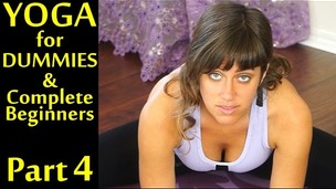 Yoga For Dummies & Complete Beginners Part 4 Relaxation, Stress and Pain Relief