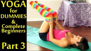 Thumbnail image for Yoga For Dummies & Complete Beginners Part 3 Weight Loss & Stomach Fat Burning