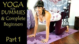 Thumbnail image for Yoga For Dummies & Complete Beginners Part 1 Relaxation & Flexibility Stretching At Home Workout