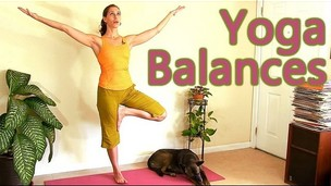 Thumbnail image for Beginners Yoga: Relaxing Balance Routine