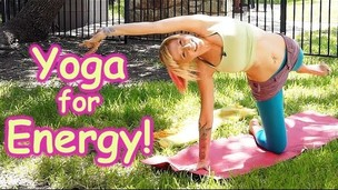 Thumbnail image for 20 Minute Yoga Workout for Energy, Beginners Home Morning Routine How to , Pain Relief & Flexibility