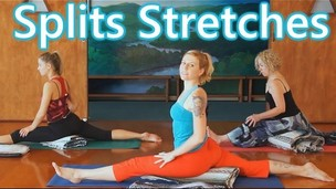 Thumbnail image for Fun Splits Stretches Workout For Beginners, 20 Minute Yoga For Flexibility & How To Do The Splits
