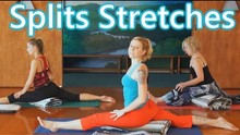 Fun Splits Stretches Workout For Beginners, 20 Minute Yoga For Flexibility & How To Do The Splits