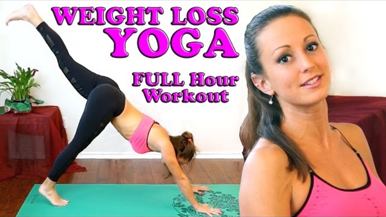 Thumbnail Image For Weight Loss Yoga Beginners Full Body At Home 1 Hour Workout