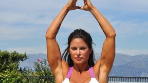 Thumbnail image for 43 min Intermediate Yoga Core Workout