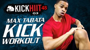 Thumbnail image for MAX Tabata Kickboxing HIIT Workout