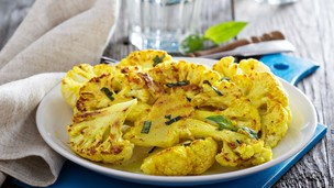 Thumbnail image for Pan-Seared Cauliflower