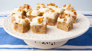 Frosted Banana Nut Bars