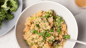Thumbnail image for Red Lentils, Quinoa, and Greens