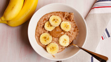 Porridge with Almond Butter