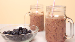 Thumbnail image for Banana and Blueberry Smoothie