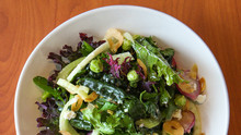 Kale Salad With Fennel, Celery & Feta