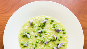 English Pea Risotto