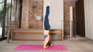 Thumbnail image for Balancing a Headstand