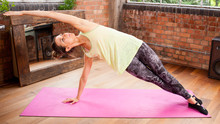 Pilates and Barre Workout