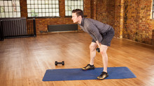 Abs and Legs Dumbbell Workout