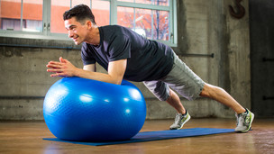 Thumbnail image for Stability Ball Core Workout