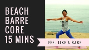 15-Minute Beach Barre Core
