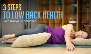 3 Steps To Low Back Health