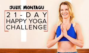 21-Day Happy Yoga Challenge