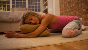Thumbnail image for Stretches To Sleep Better