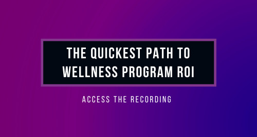 Webinar: Quickest Path to ROI