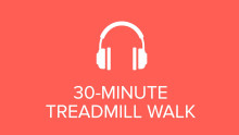 30-Minute Treadmill Walk