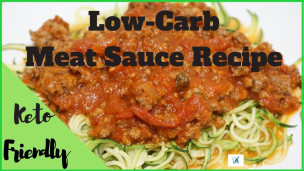 Thumbnail image for Low-Carb Meat Sauce Recipe Ever | Keto-Friendly