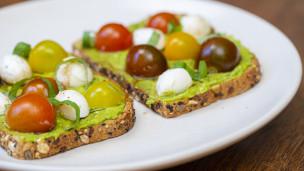 Thumbnail image for Caprese Avocado Toast