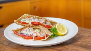 Thumbnail image for Salmon Pita Sandwich
